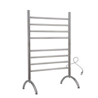 Warmly Yours Barcelona Towel Warmer Standing Towel Rack Warmer