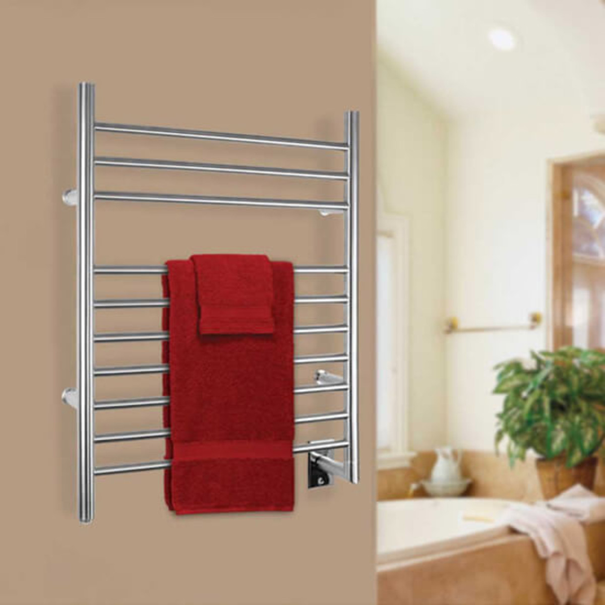 Warmly Yours Towel Warmer bath
