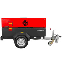 Chicago Pneumatic Portable Diesel Compressor CPS185KDT4F
