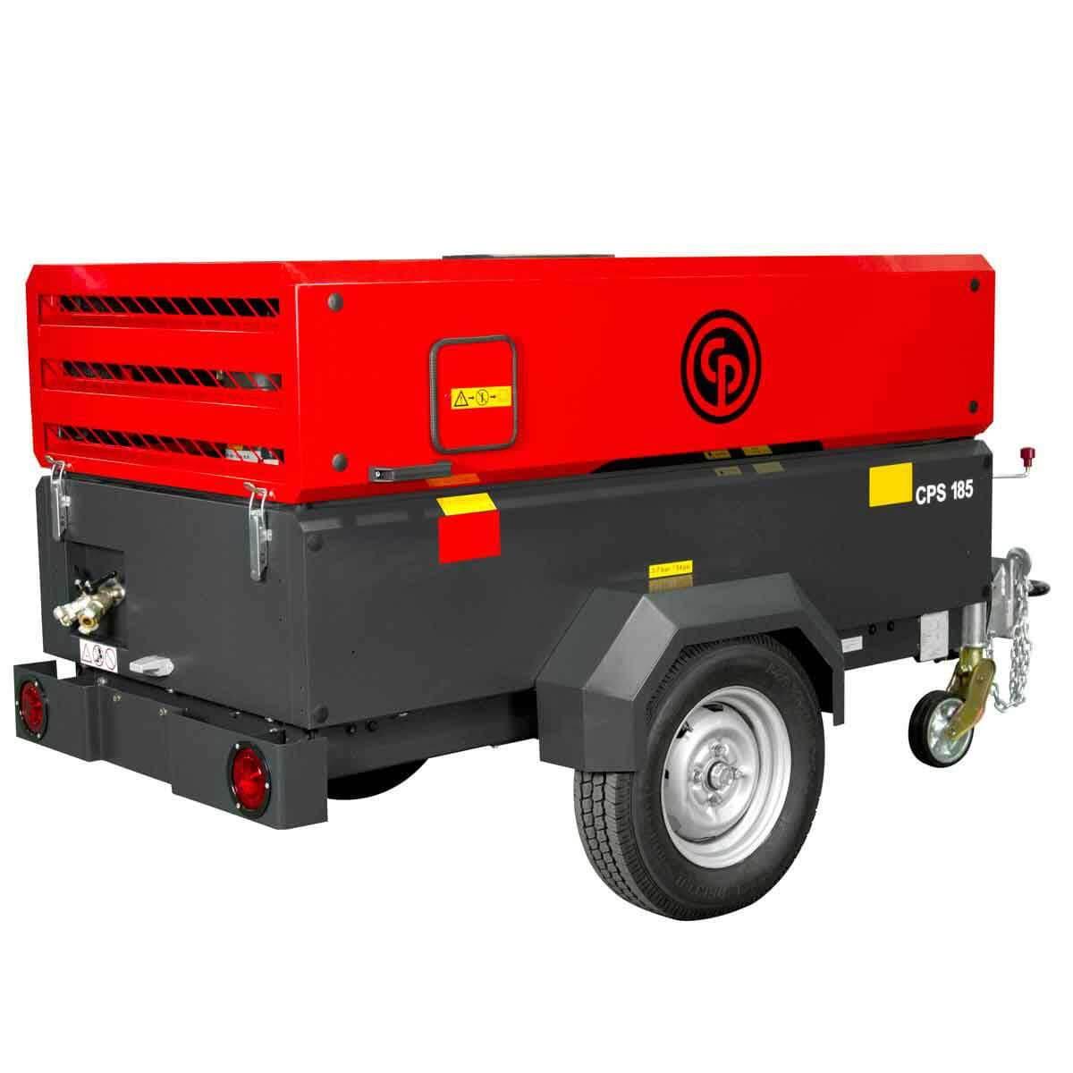 CPS185KDT4F Portable Diesel Compressor
