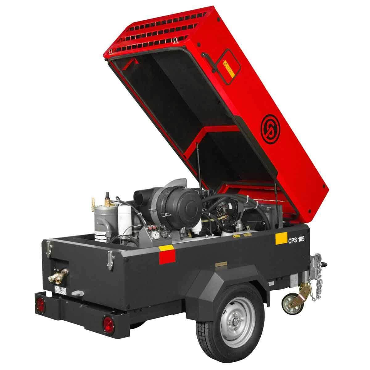 Portable Diesel Compressor 185 KD T4F