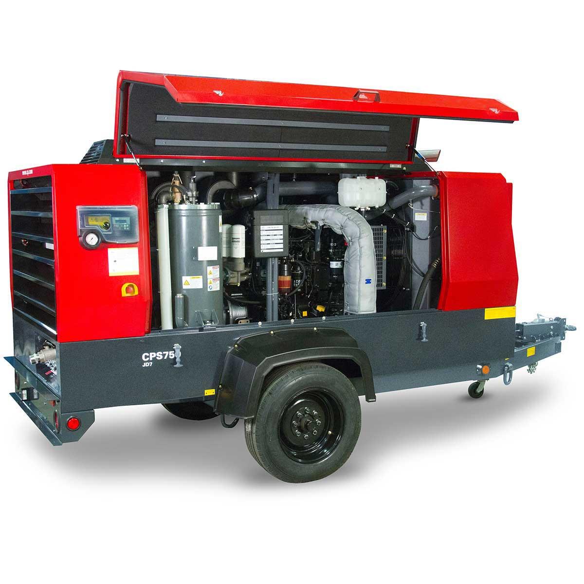 CPS750JD7iT4 Portable Diesel Compressor