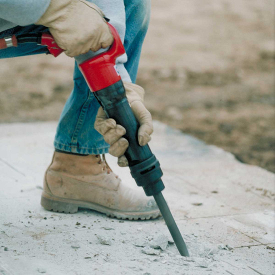 Using a CP4123 Chipping Hammer