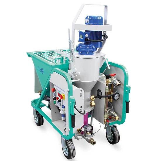 Imer KOINE 35 Plaster Sprayer with Wheel Kit