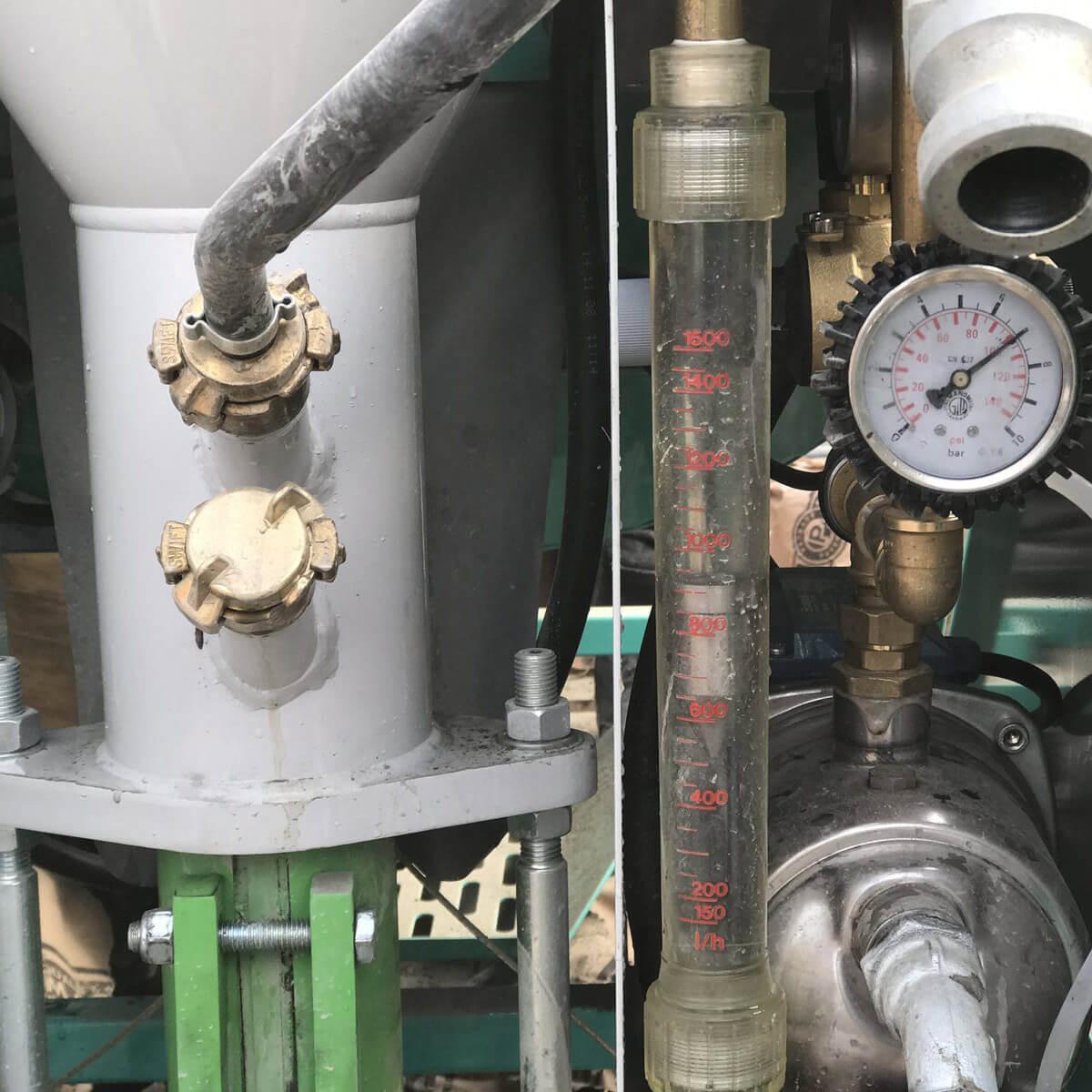 imer koine 35 Pump pressure gauge