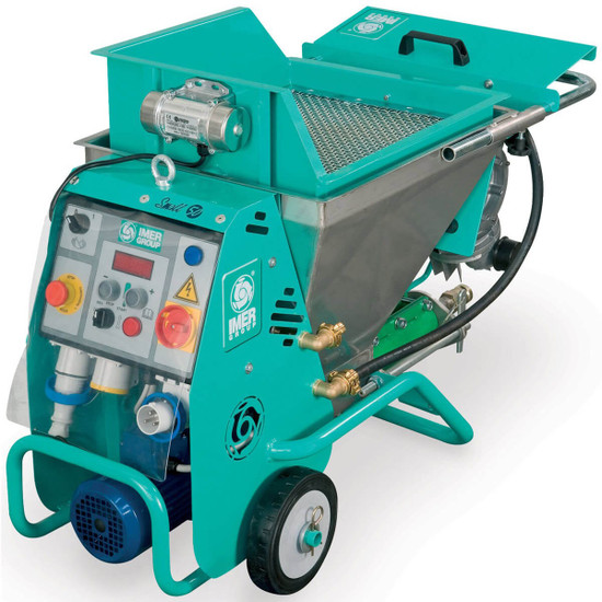 Optional Vibrating Hopper for Small 50 Spraying Machine