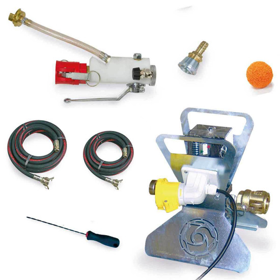 Imer Small 50 Controlled Pressure Grout Kit