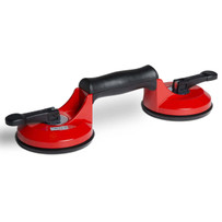 Rubi Ergonomic Aluminum Dual Suction Lift Handle Body made of highly resistant aluminum. With ergonomic handle for greater comfort