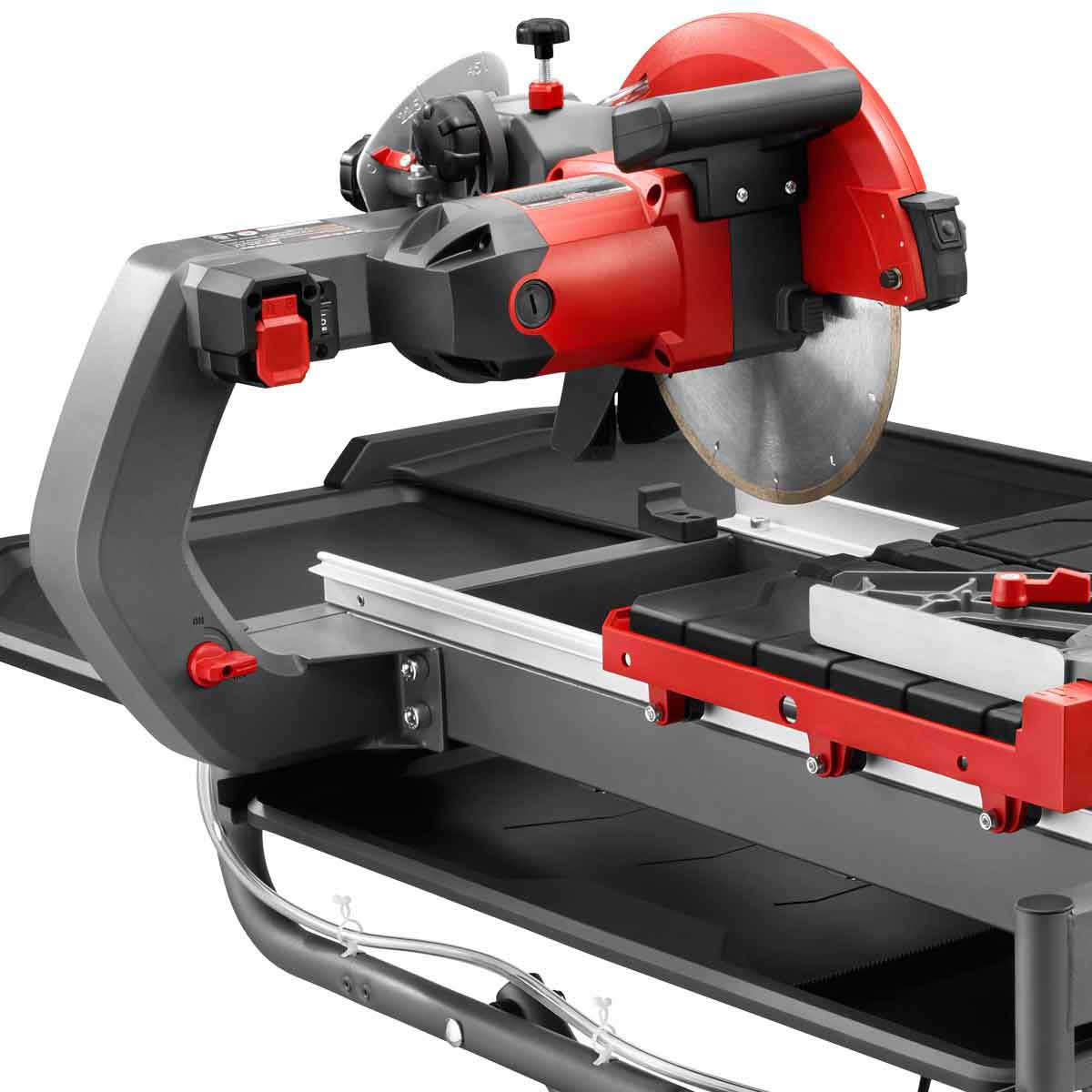 Rubi DT250 tile saw cutting head and brushes