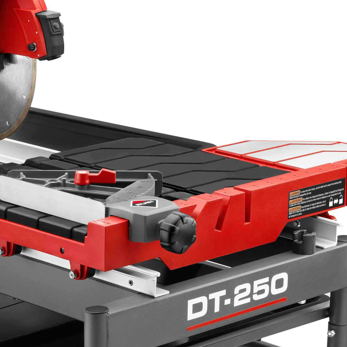 Rubi DT250 Tray & Angle Guide