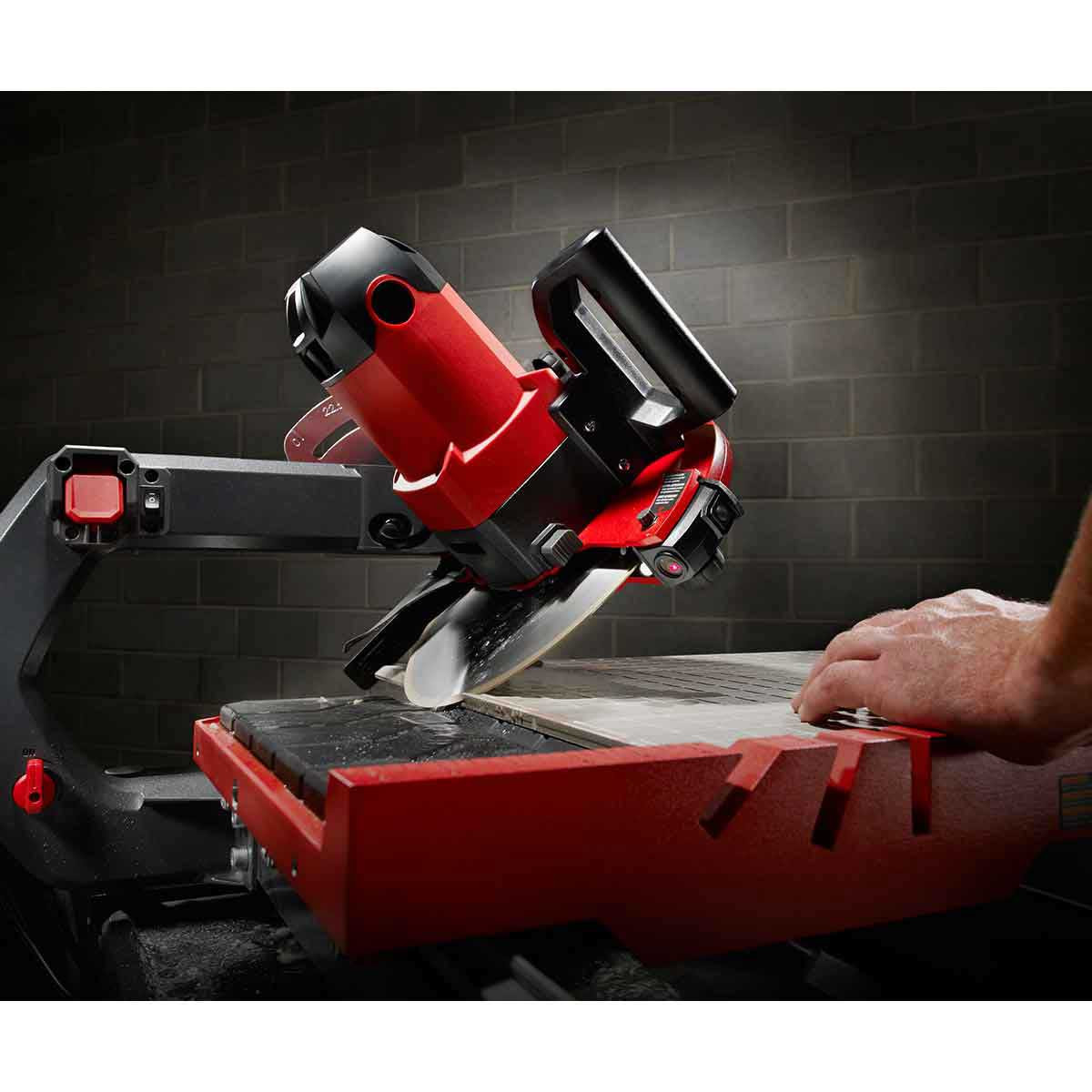 45 Degree Miter with Rubi DT250 Saw
