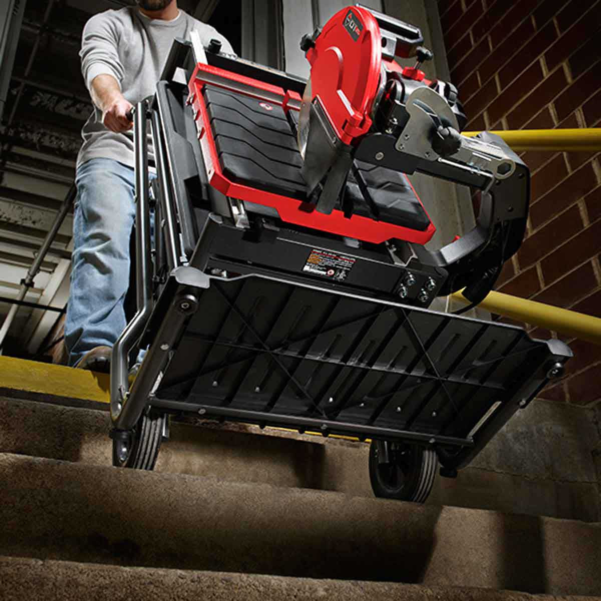 Rubi DT250 Tile Saw Rolling Stand