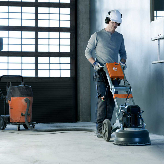 Husqvarna PG 450 Floor Grinder with Vacuum
