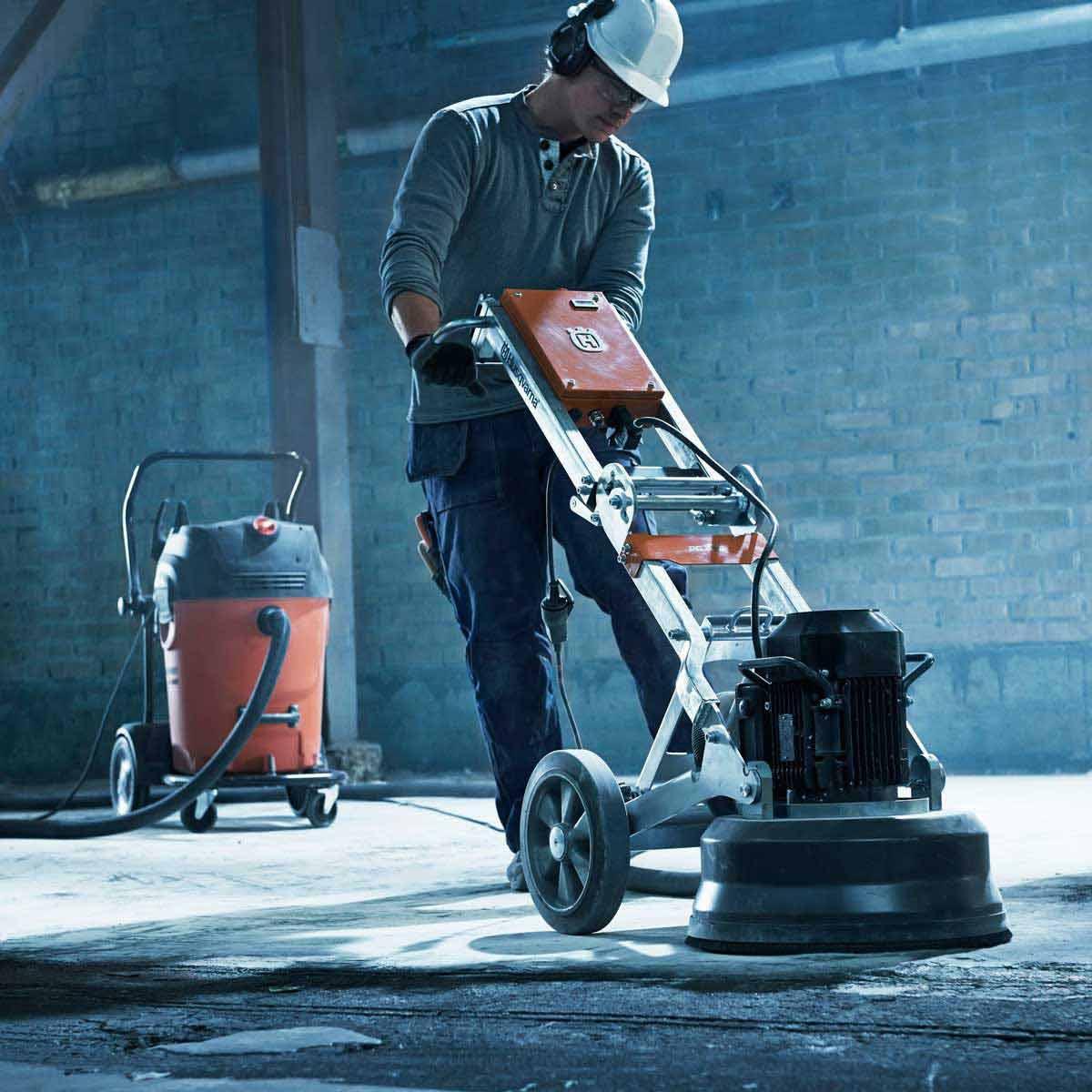 Husqvarna PG 450 vacuum concrete