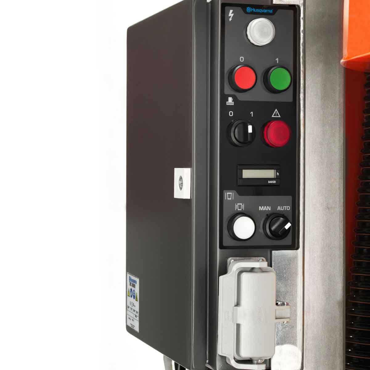 Husqvarna DC6000 vacuum grill