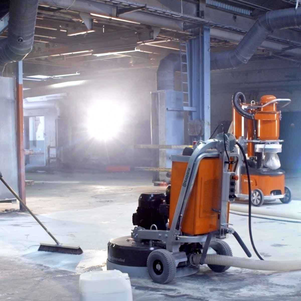 Husqvarna DC6000 vacuum cut away