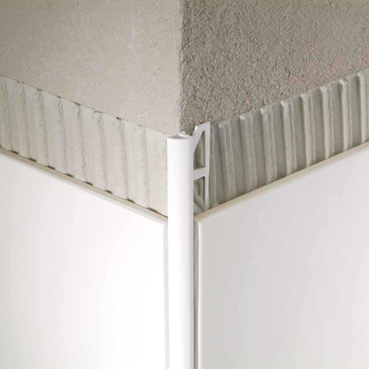 Blanke Aluminum Quarter Circle Tile Trims