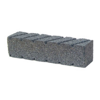 Norton 6 x 2 inch Fluted Hand Rubbing Brick 61463687840