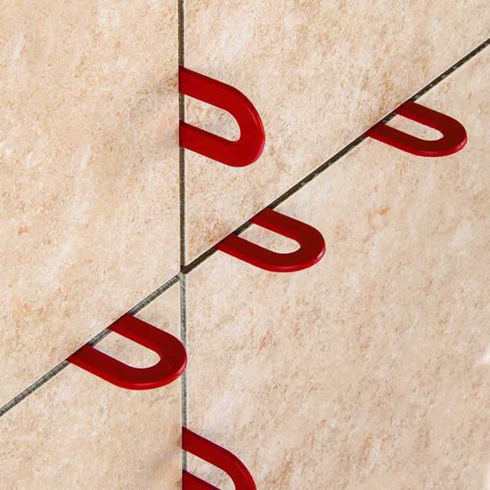 Plastic Horseshoe Shims for Tile Installation