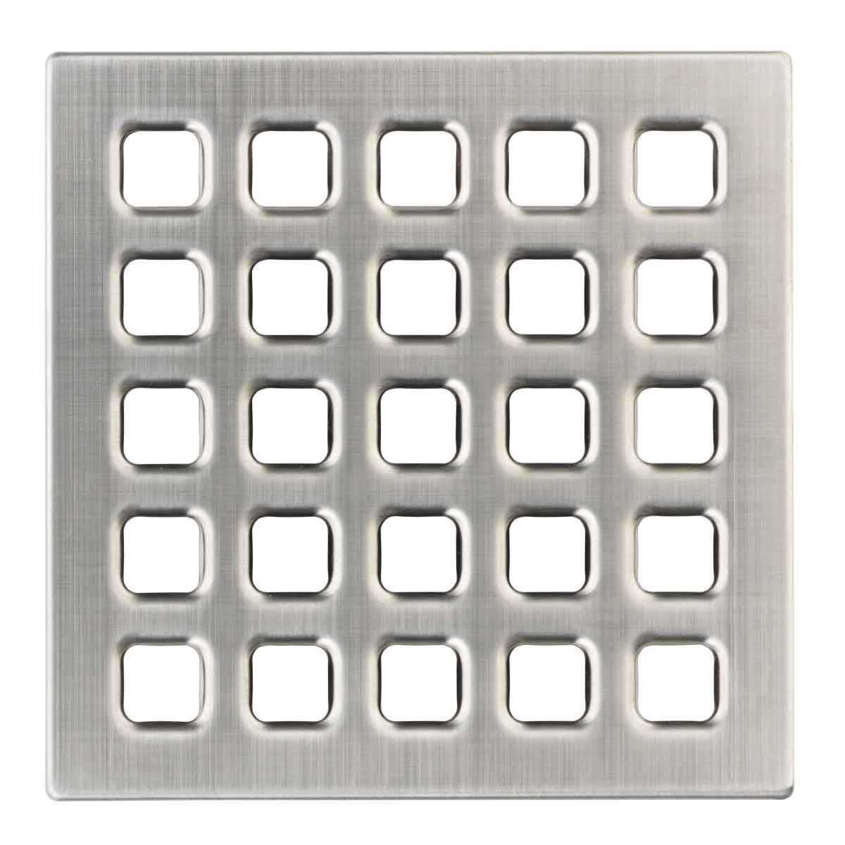 Pewter Durock Pro Series 4 inch Grate 170162