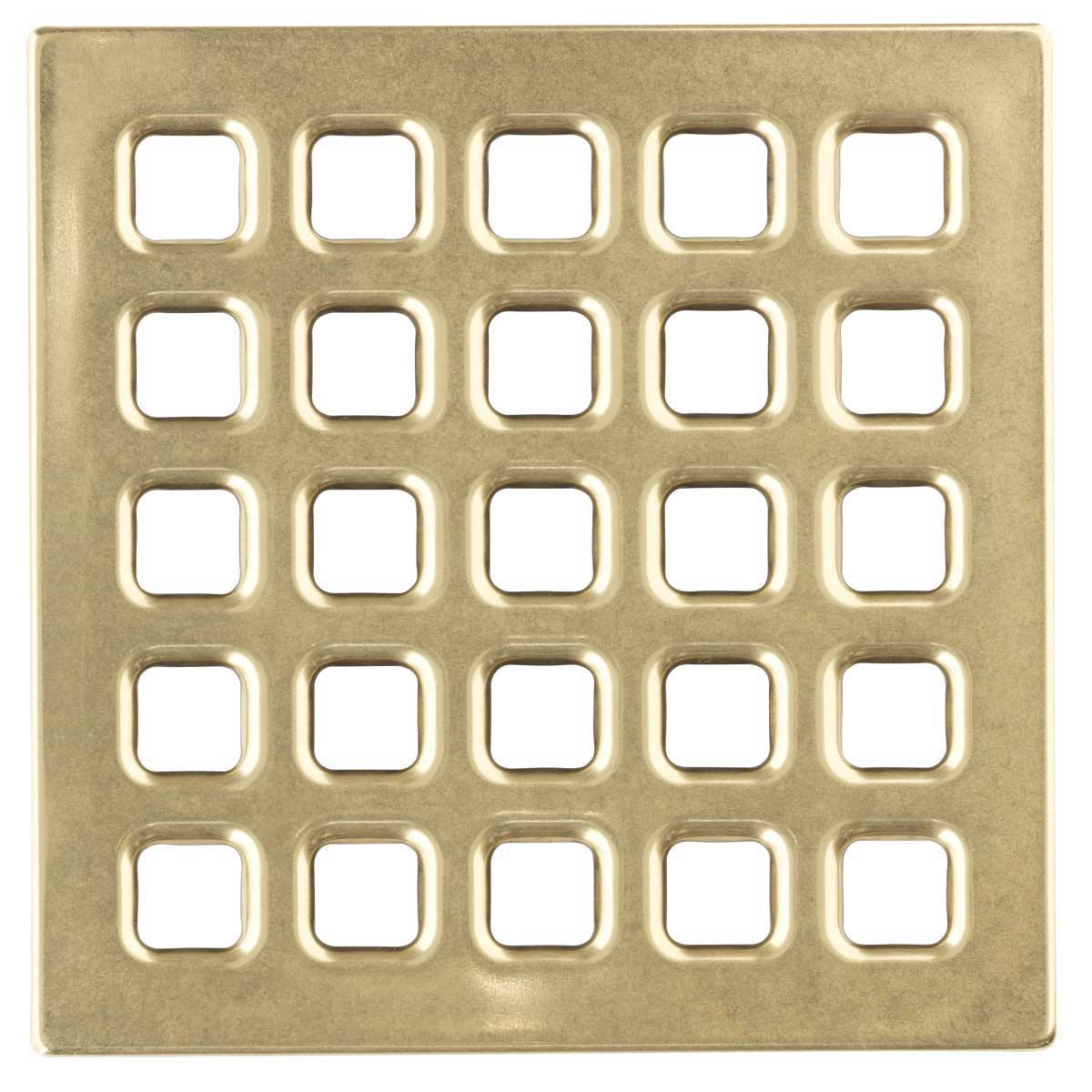 Polished Gold Durock Pro Series 4 inch Grate 170158