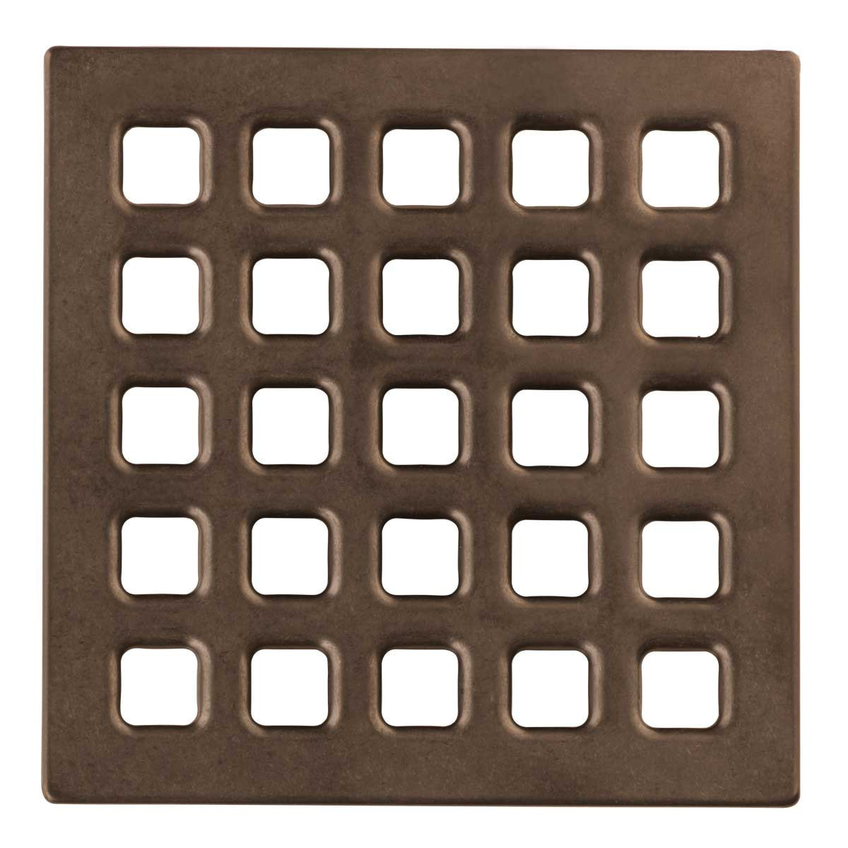 Oil Rubbed Bronzed USG Durock Pro Series 5 inch Grate 170168