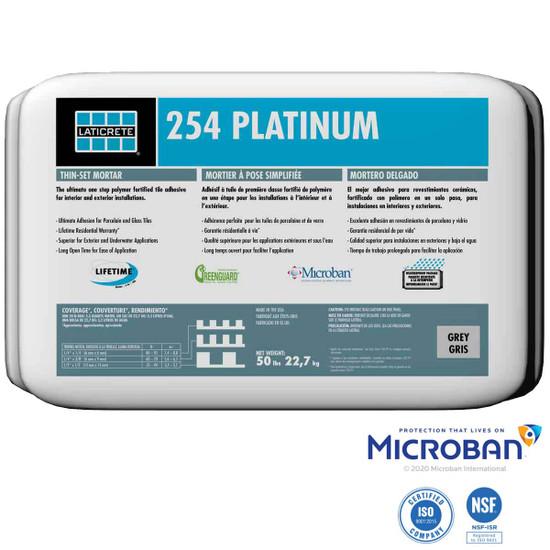 Laticrete 254 Platinum mortar with Microban