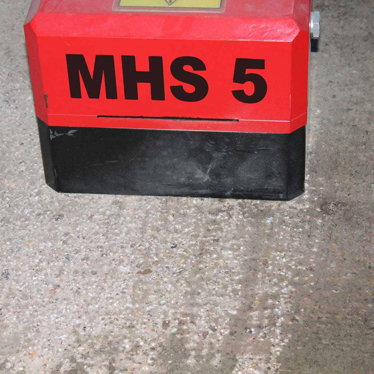 trelawny MHS5 floor scabbler action