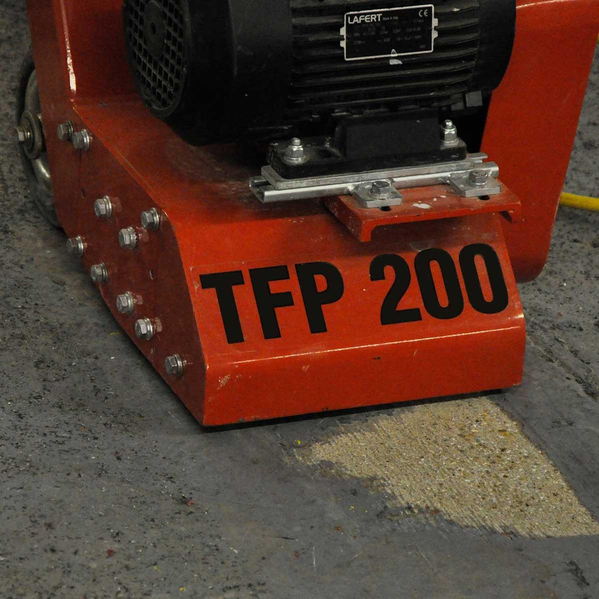 TFP200 CS Unitec Floor concrete