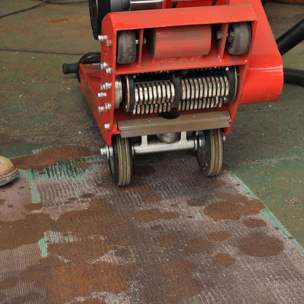 CS Unitec Floor Scarifiers carbide