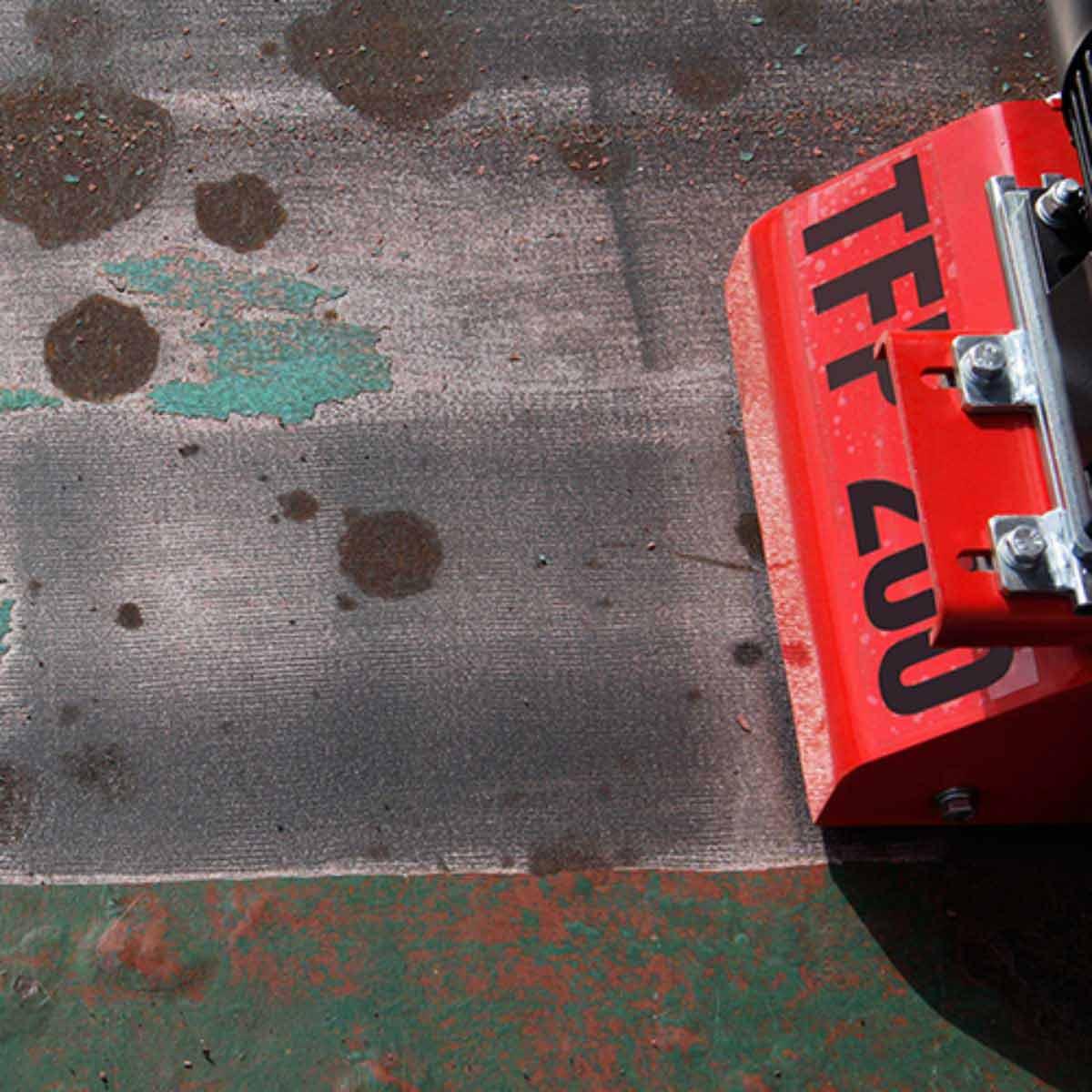 CS Unitec Floor Scarifiers paint