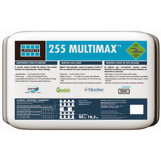 Laticrete 255 MultiMax thin set