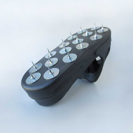 Spiked shoes for Resinous Coatings