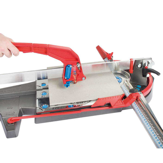 handle, offering more leverage, advanced breaking system Montolit Evo P3 reconditioned tile cutter