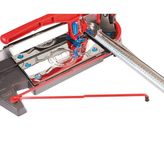 Sprung tables with extendable support rod for large format tiles 93P3-Recon Montolit tile cutters