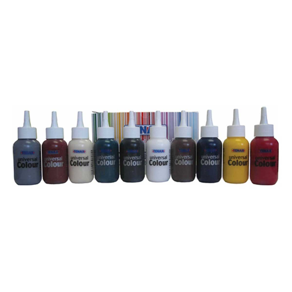 Tenax Universal Color 10 pcs Kit for Polyester and Epoxy Glue