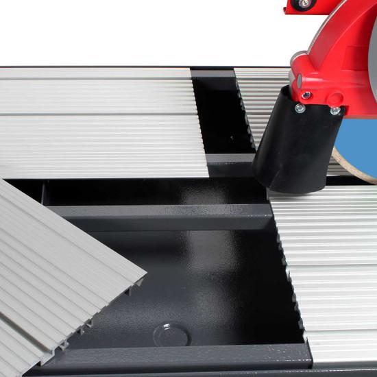 rubi dx350 wet tile saw cutting platform