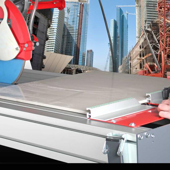 rubi dx350 wet tile saw cuts porcelain