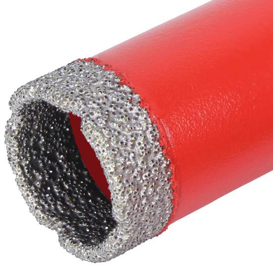 Rubi dry core drill bit matrix
