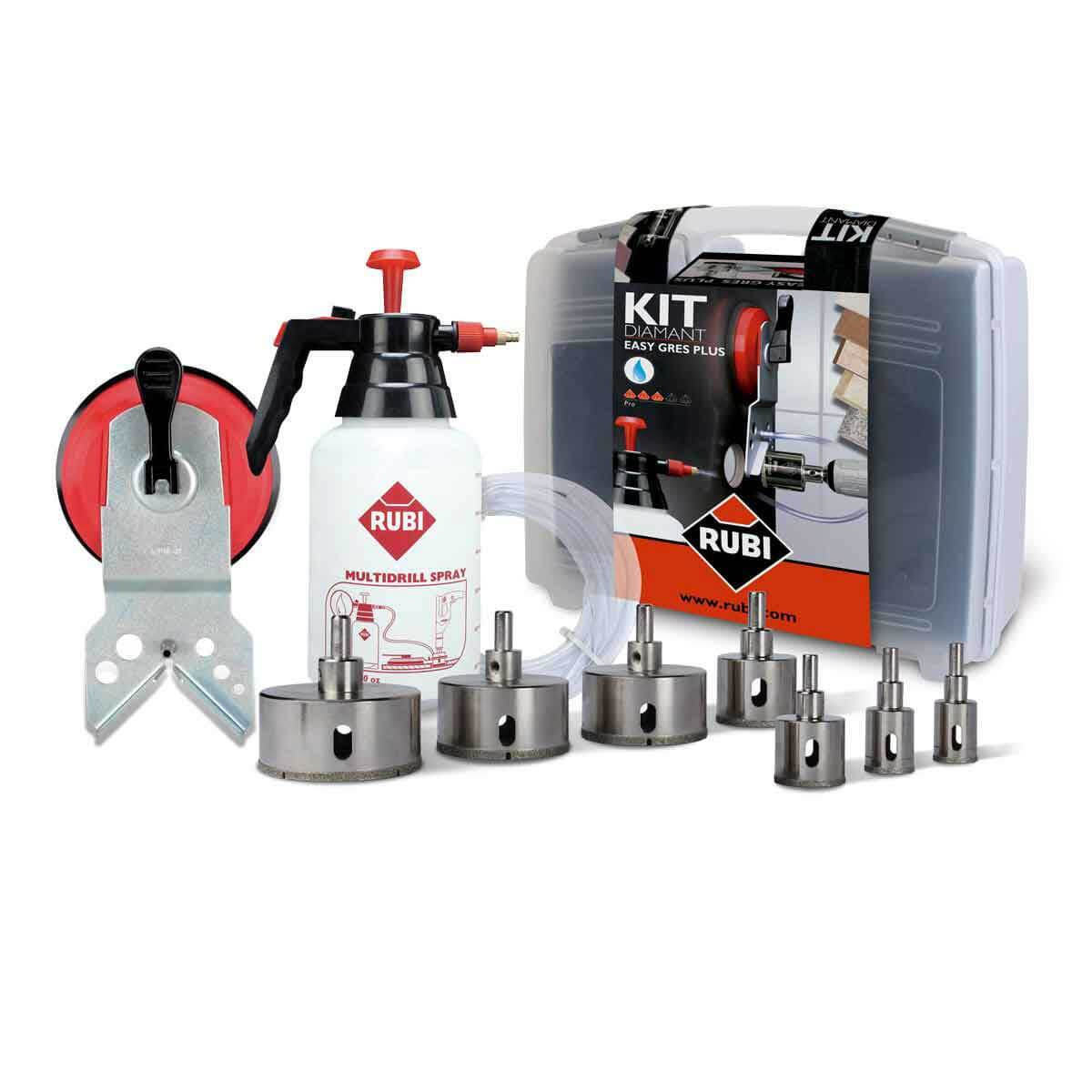rubi easygres wet drill bit kit