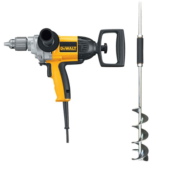 Dewalt DW130V Mixing Drill Mud Beater Paddle with Bucket Mortar. Mixer for mixing all types of mortar and concrete