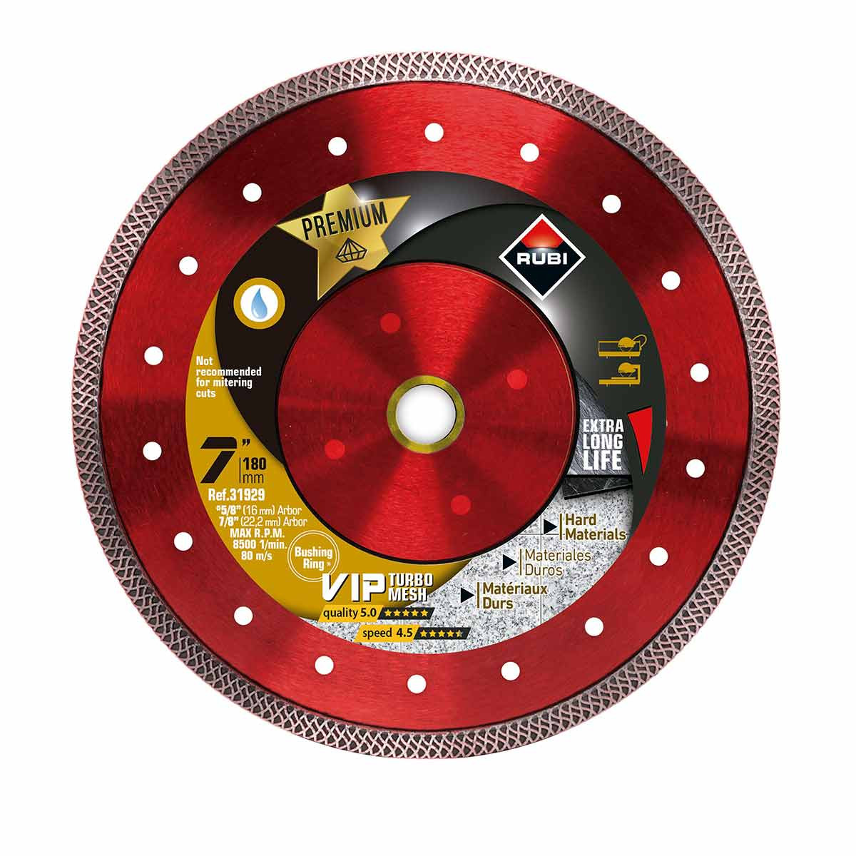 rubi viper 7in diamond blade
