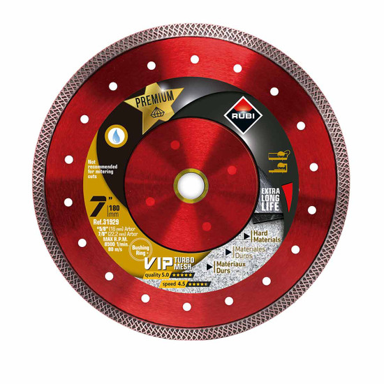 Rubi VIP Diamond Blade 7in
