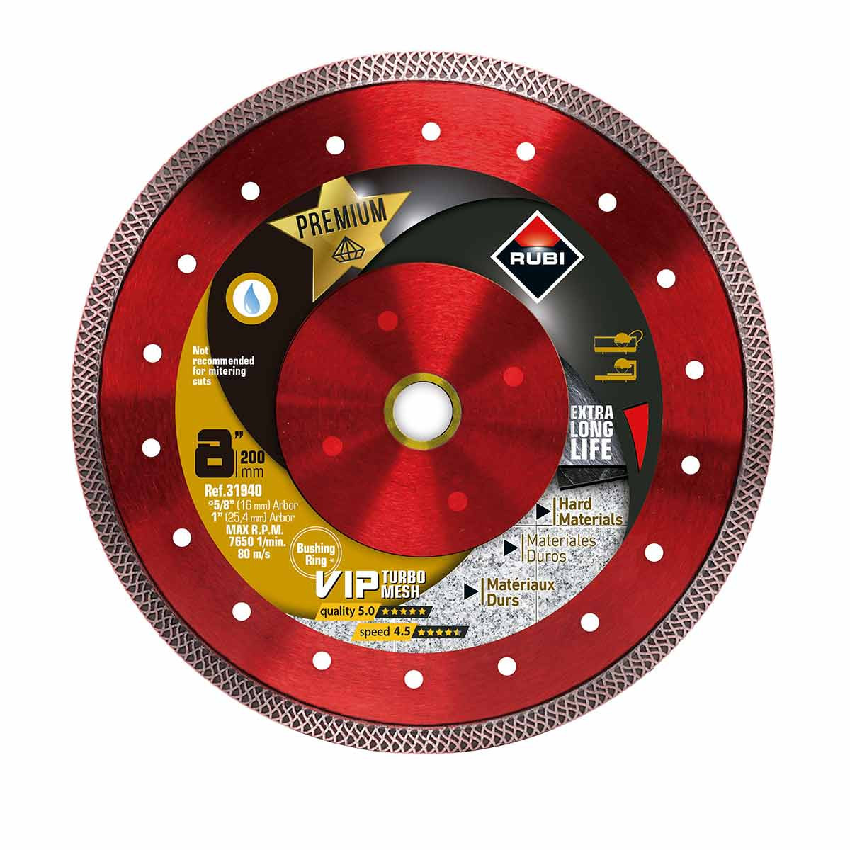 rubi viper 8in diamond blade