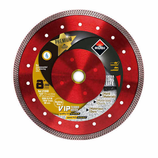 Rubi VIP Diamond Blade 8in
