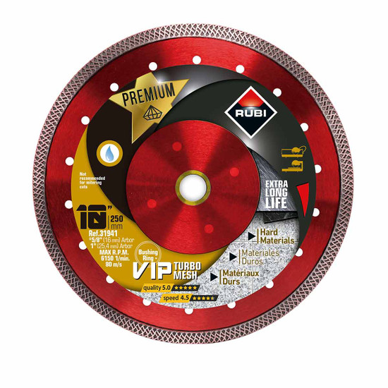 Rubi VIP Diamond Blade 10in