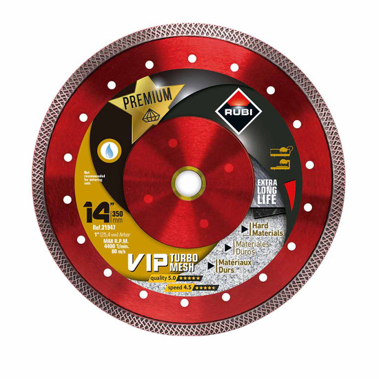 Rubi VIP Diamond Blade 14in