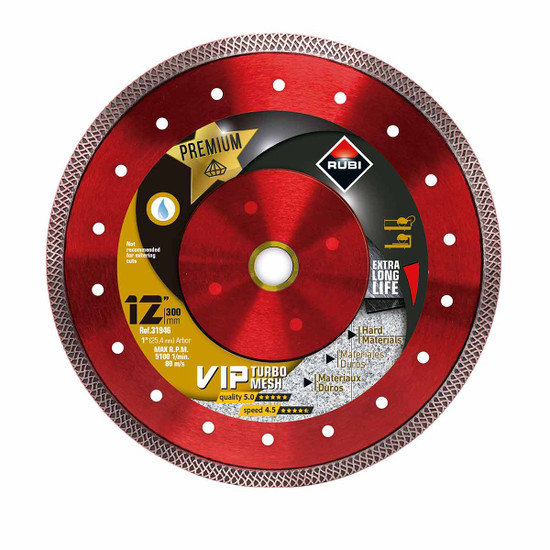 Rubi VIP Diamond Blade 12in