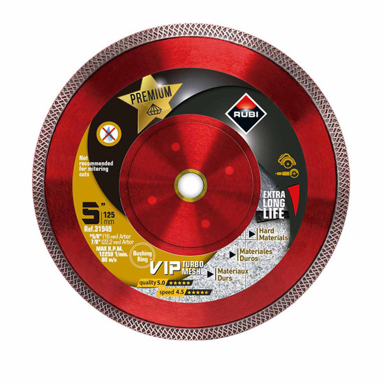 Rubi Turbo Viper 5 inch Diamond Blade