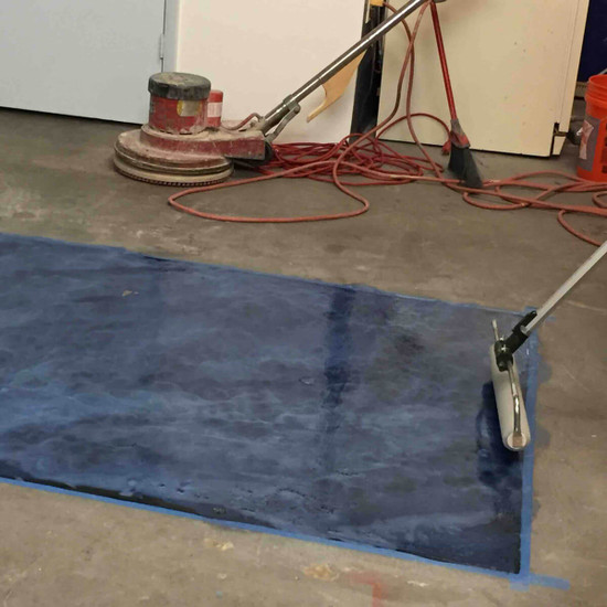 Rolling Polyaspartic Floors
